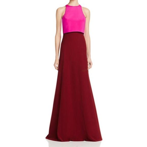 b00e703a Jill Stuart Dresses | Nwt Jill Red Pink Color Block Dress 0 | Poshmark